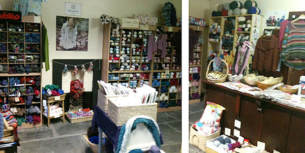 loopy wool shop ulverston interior
